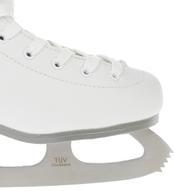 Коньки фигурные Sporting Goods, цвет: белый, фуксия, серый. PW-222. Размер 38