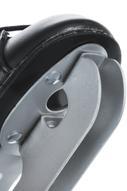 Коньки фигурные СК Magic, цвет: черный. Размер 28