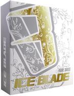 """Коньки фигурные женские Ice Blade """"Sofia"""", цвет: белый, сиреневый. Размер 33"""