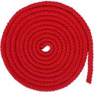"""Скакалка гимнастическая """"Larsen"""", цвет: красный, длина 3 м"""