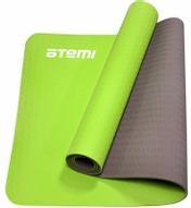 """Коврик для йоги и фитнеса """"Atemi"""", цвет: зеленый, 61 х 173 см"""