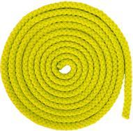 """Скакалка гимнастическая """"Larsen"""", цвет: желтый, длина 3 м. 150518"""