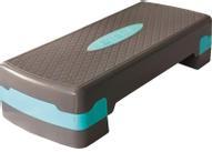 "Степ платформа ""Atemi"", 2 уровня, цвет: голубой"