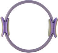 """Кольцо пилатес """"Atemi"""", цвет: фиолетовый, диаметр 40 см"""