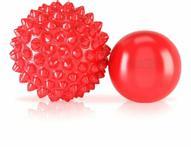 """Массажные мячи Rocktape """"RockBalls"""", цвет: красный, 2 шт"""