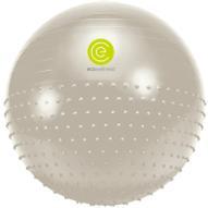 """Мяч гимнастический """"Ecowellness"""", цвет: серый, зеленый, диаметр 65 см"""
