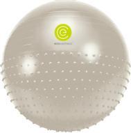 """Мяч гимнастический """"Ecowellness"""", цвет: серый, зеленый, диаметр 75 см"""