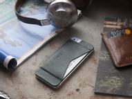 Кошелек-накладка для телефона  Zavtra, цвет: темно-зеленый. zav02i5gre