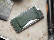 Кошелек-накладка Zavtra, цвет: темно-зеленый. zav02i6gre