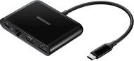 Samsung EE-P5000, Black адаптер многопортовый для USB Type-C устройств