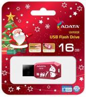 ADATA UV100 16GB, Red USB флеш-накопитель