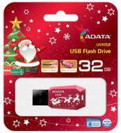 ADATA UV100 32GB, Red USB флеш-накопитель