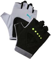 "Перчатки для фитнеса женские Puma ""Gym Gloves"", цвет: светло-серый. 04126505. Размер M (9)"