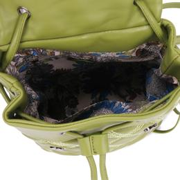 6ed1dcfa68ff Рюкзак женский OrsOro, цвет: оливковый, 20 x 20 x 13 см. DS
