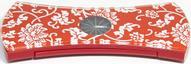 """Весы напольные """"Akai"""", с часами, электронные, цвет: красный, до 180 кг. 1350/R"""
