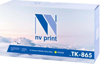 NV Print NV-TK865Y, Yellow тонер-картридж для Kyocera TASKalfa 250ci/300ci (12000k)